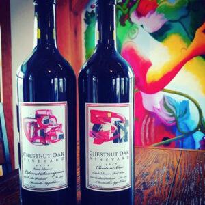custom art for wine label